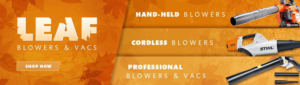 leaf blowers vacuums hand-held cordless professional