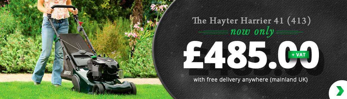hayter harrier 41 413 now only £485