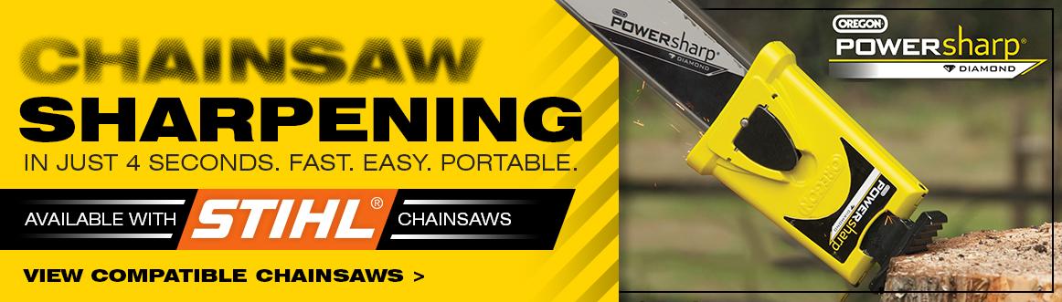 STIHL chainsaw sharpening Powersharp