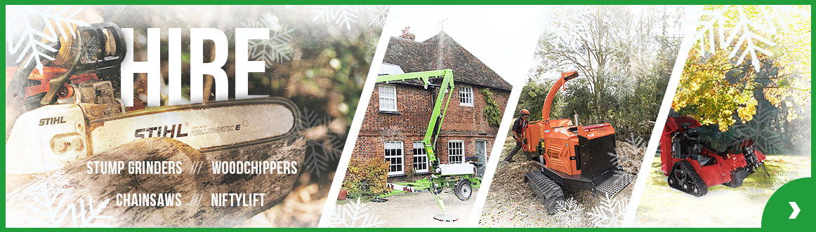 Winter Hire PTE Stump Grinders Woodchippers Chainsaws Niftylift