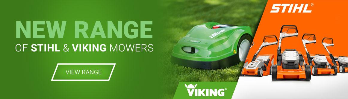 New Range of STIHL & Viking Mowers