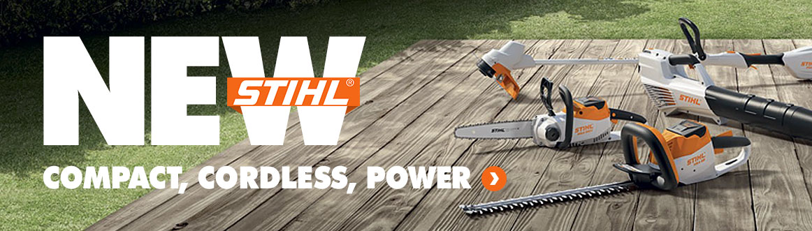 New STIHL Compact Cordless Power Range