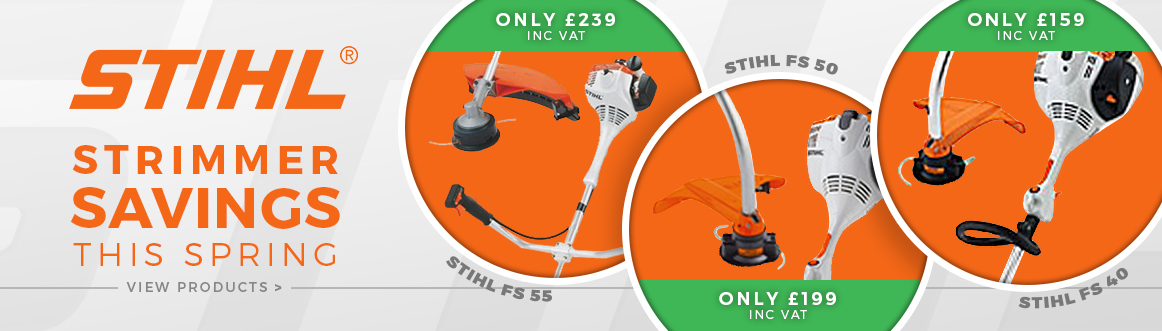 Stihl strimmer savings