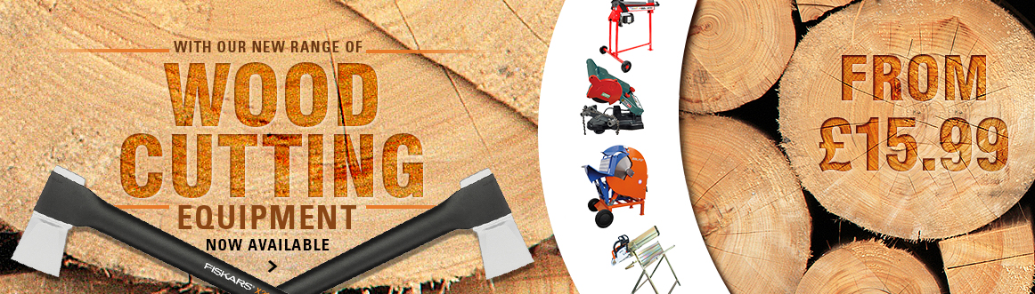 Wood Cutting Equipment from £15.99 affordable log splitters